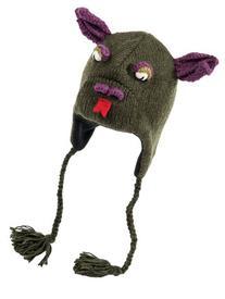 Nirvanna Designs CHDRAGON Dragon Hat with Fleece, Olive,