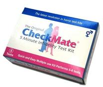 Check Mate Infidelity Test Kit - 10 Tests - Check your
