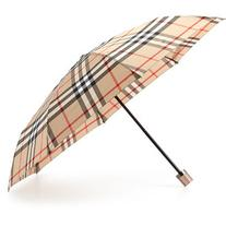 Burberry Check-Print Folding Umbrella