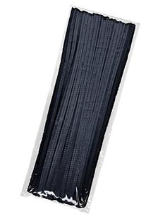 Creativity Street Chenille Stems/Pipe Cleaners 12 Inch x 4mm 100-Piece, Black