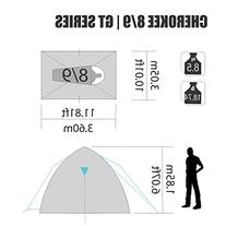 NTK Cherokee GT 8 to 9 Person 10 by 12 Foot Sport Camping