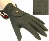 Roeckl Chester Black Gloves 7 1/2