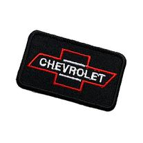 Chevrolet Embroidered Iron on Patch ,Sew On Car Logo Clothes