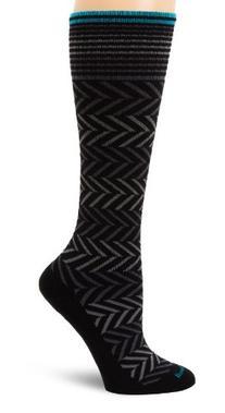 Sockwell Women's Chevron Circulator Sock, Medium/Large,