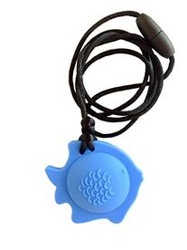 chubuddy Chewable Fish Pendant Chewie, Non-Toxic Material-