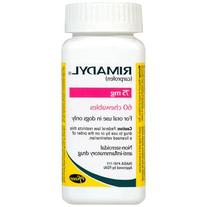 Rimadyl 75 mg Chewables 60 ct by PFIZER ANIMAL HEALTH