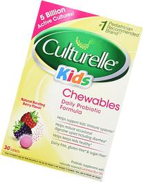 Culturelle Kids Chewables, Natural Bursting Berry Flavor, 30