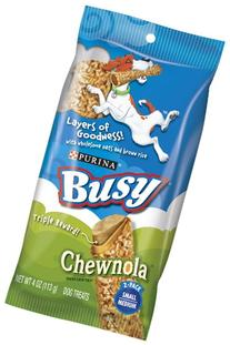 Purina Busy Chewnola With Wholesome Oats and Brown Rice