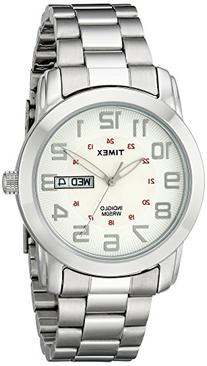 Timex Men's Highland Street Watch, Silver-Tone Stainless
