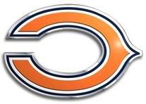 Chicago Bears Color Auto Emblem - Die Cut