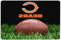Gamewear Chicago Bears Classic NFL Football Pet Bowl Mat