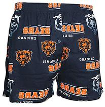 Chicago Bears Mens Navy Oversized Sport Fusion Boxer Shorts