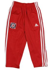 Chicago Fire MLS Toddler's Red 3-Stripe Track Pant