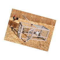 Precision Pet Chicken Coop Extension Pen, 55.12 by 27.36 by