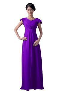Dresstells Chiffon Bridesmaid Dress Party Prom Dresses Plus