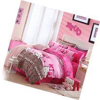 Warm Embrace Children Bedding Series 100% Cotton Hello Kitty