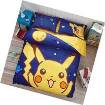 CASA Children 100% cotton series Pikachu Duvet cover &