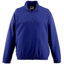 Augusta Sportswear BOYS' CHILL FLEECE HALF-ZIP PULLOVER S