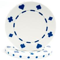 Trademark Poker 100 Suited Chip, 11.5gm, White