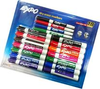 Expo Chisel & Fine Tip Low Odor Dry Erase Markers 18 Pack