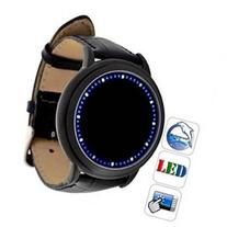 Chiworld Fashionable Blue LED Digital Touchscreen Watch with