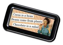 Chocolate Is A Salad Funny Retro Tampon Case