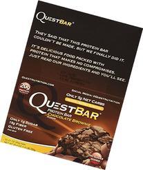 Quest Bar Chocolate Brownie -2.12 Oz. BARS , Box of 12 - 2