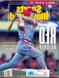 Chris Sabo autographed Sports Illustrated Magazine