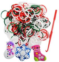 Limited Edition Christmas Bands With Charms - 300 Pack