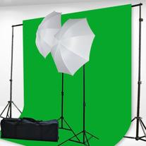 Fancierstudio H69G 6x9-Feet Chromakey Green Screen Kit