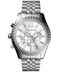 Michael Kors Men's Chronograph Lexington Stainless Steel