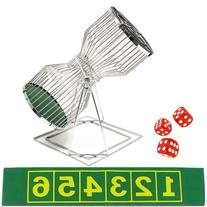 """11"""" Small Chuck-a-Luck Birdcage Game by Brybelly"""