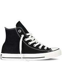 Converse Chuck Taylor All Star High Top Shoes, Black, Size