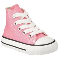 Converse Kids Unisex Chuck Taylor All Star Core Hi  Pink