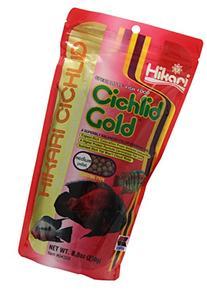 Hikari 8.8-Ounce Cichlid Gold Floating Pellets for Pets,