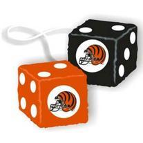 Cincinnati Bengals NFL 3 Car Fuzzy Dice