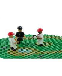 Oyo Sportstoys Cincinnati Reds Infield Set