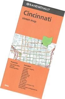 Cincinnati Street Map- OH Rand McNally