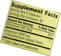 Spring Valley Cinnamon, 500 Mg, Metabolism Support, 120