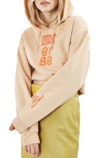 Women's Topshop Circa '98 Crop Hoodie