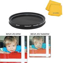 52mm Circular Polarizer Multi-Coated Filter for Pentax DA 18