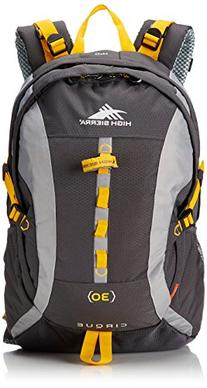 High Sierra Cirque 30L Internal Frame Backpack; High-Performance Pack for Backpacking, Hiking, Camping, Mercury/Ash/Yell-O