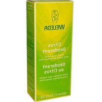 Weleda Deodorant Citrus - 3.4 fl oz