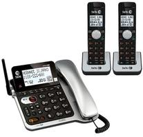AT&T CL84202 Corded Telephone + 2 Additional Handheld