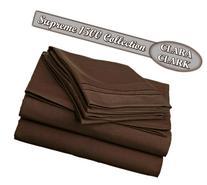 Clara Clark Supreme 1500 Collection 4pc Bed Sheet Set - King