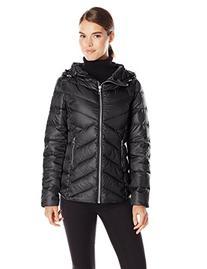 Sam Edelman Women's Clara Lightweight Packable Down Jacket,