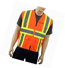 Safety Depot Class 2 Customized Safety Vest Reflective Two