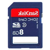 SanDisk 8 GB Class 4 SD Flash Memory Card - 2 Pack With