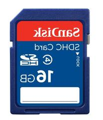 SanDisk 16GB Class 4 SDHC Memory Card, Frustration-Free