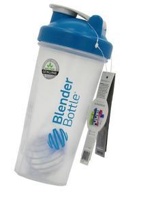 Blender Bottle Classic Loop Top Shaker Bottle, Clear Green,